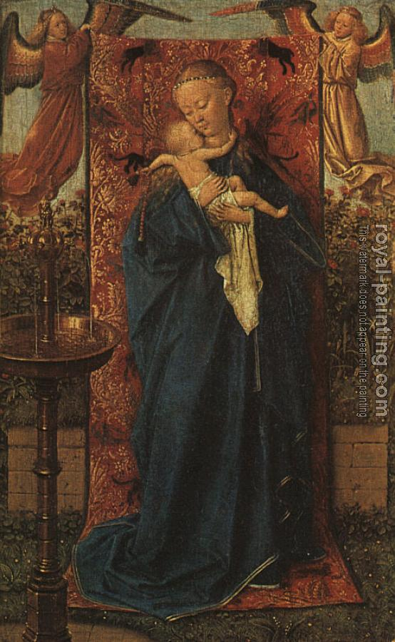 Jan Van Eyck : Madonna by the Fountain